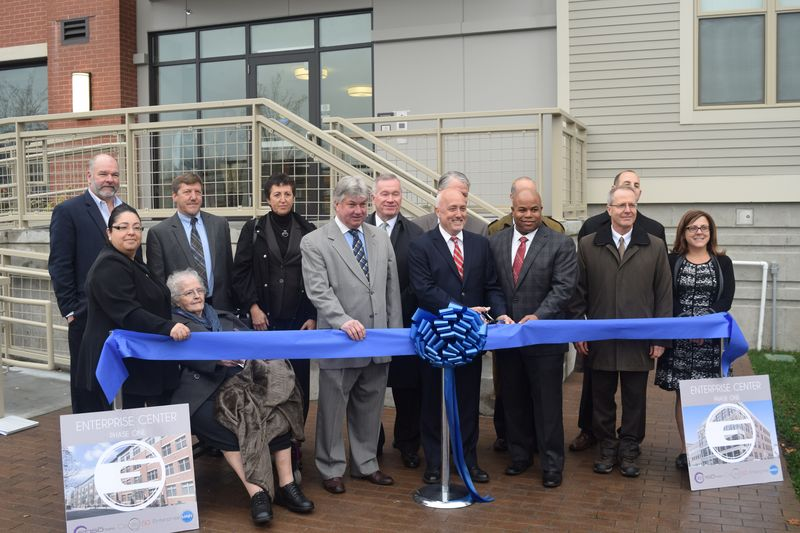 Enterprise Center Ribbon Cutting
